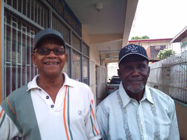 Mr Trevajo and Mr Williams Arima Boys RC
